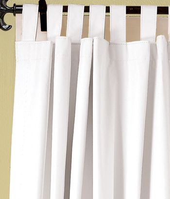 Blackout Tab Top Curtains Great Gor Day Sleepers Get White Light Blue Or Sand Color For Beachy Feel Kathy S Beach Cottage Pinterest