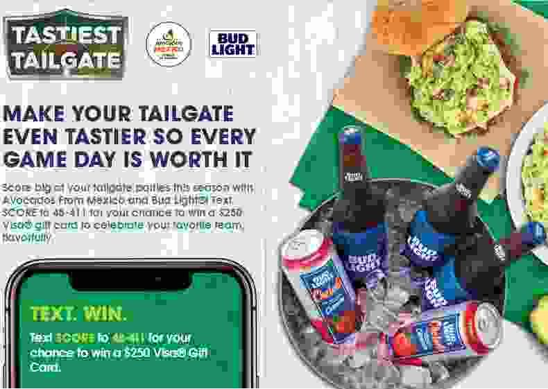 Avocados from mexico tastiest tailgate sweepstakes