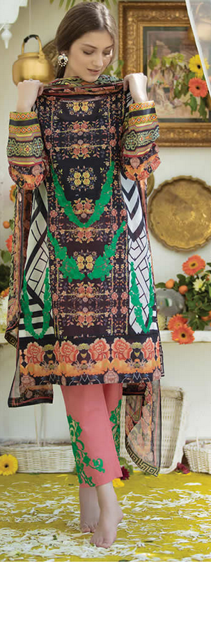 WARDA BY ALI XEESHAN LAWN COLLECTION 2016