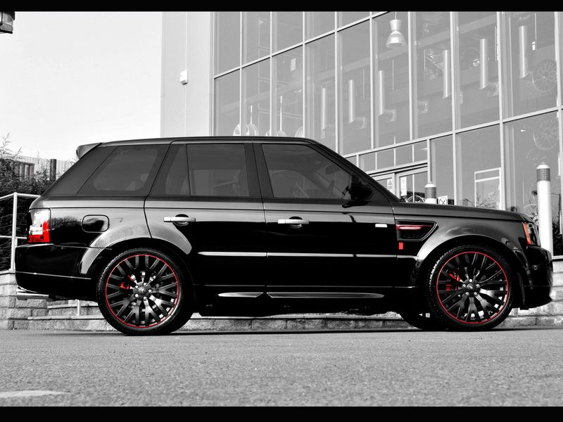 2011 Project Kahn Range Rover Sport Diablo 2011 range
