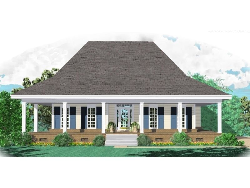 Jeremiah Acadian Home Country Style House Plans Farmhouse Style House Plans Colonial House Plans