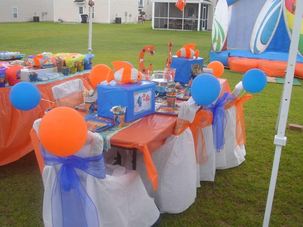 Nemo Theme - 5 Stars | Most Beautiful Birthday Party Themes ...