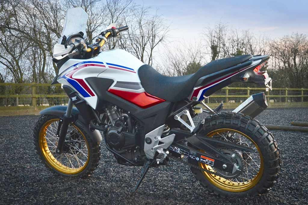 New Rally Raid Cb500x Heritage Bike Build Adv Pulse Adventure Motorcycling Adventure Bike Honda
