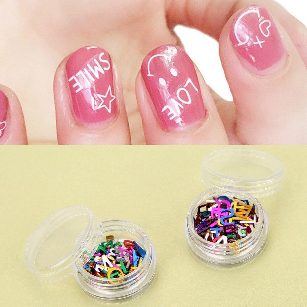 12 Colorbox 26 English Alphabets Nail Art Stickers Diy Nail Art