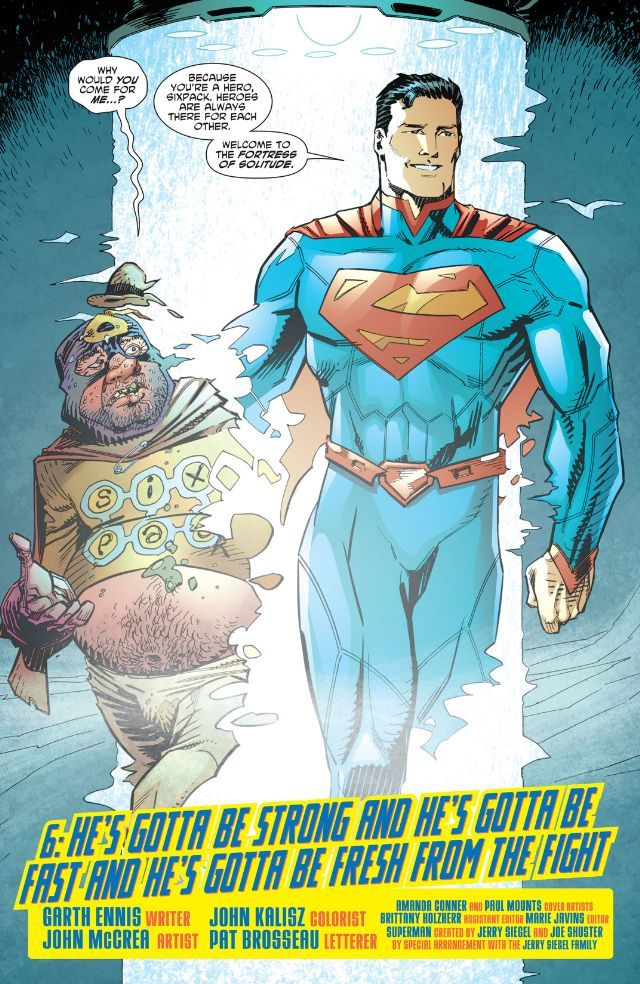 PREVIEW: ALL-STAR SECTION EIGHT #6 | DC Comics News