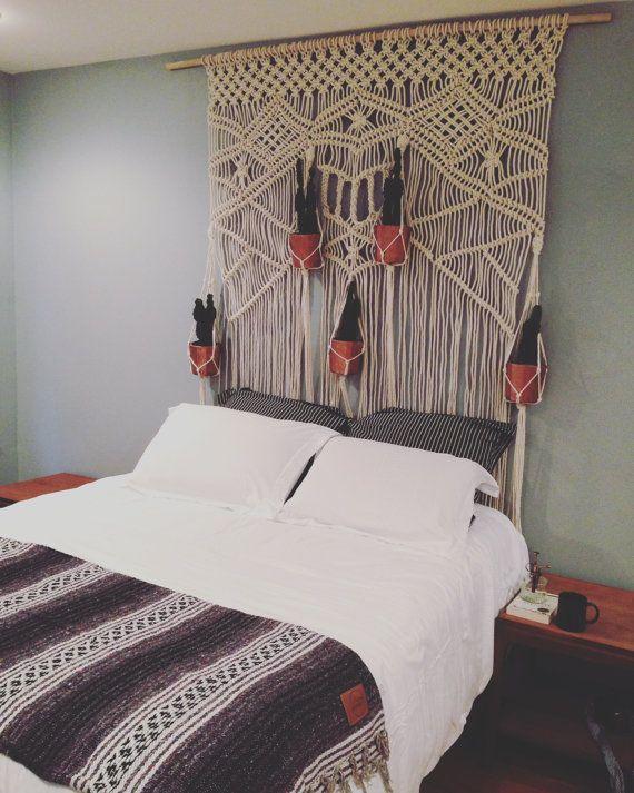 macrame wedding backdrop macrame wall hanging. Black Bedroom Furniture Sets. Home Design Ideas