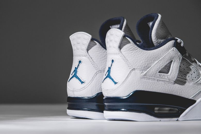 "new concept aefb7 cf4f0 millionpairsofshoes  ""crispculture  "" Air Jordan 4 Retro  Columbia    01.10    Nike Store "" needs more shoes"""