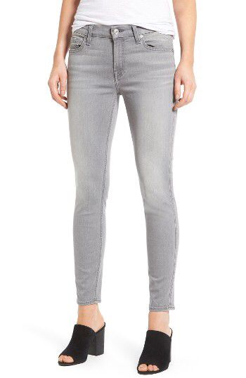 7 For All Mankind® 7 For All Mankind® b(air) Ankle Skinny Jeans (b(air)Liberty Grey) available at #Nordstrom