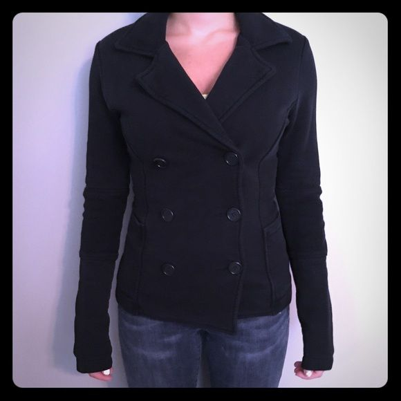 James Perse pea coat (knit material) size 1 (XS) | James perse ...