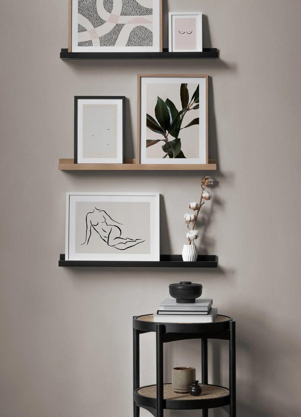 50 Bilderwände für kleine Räume   Desenio.de   Bilderwand ...