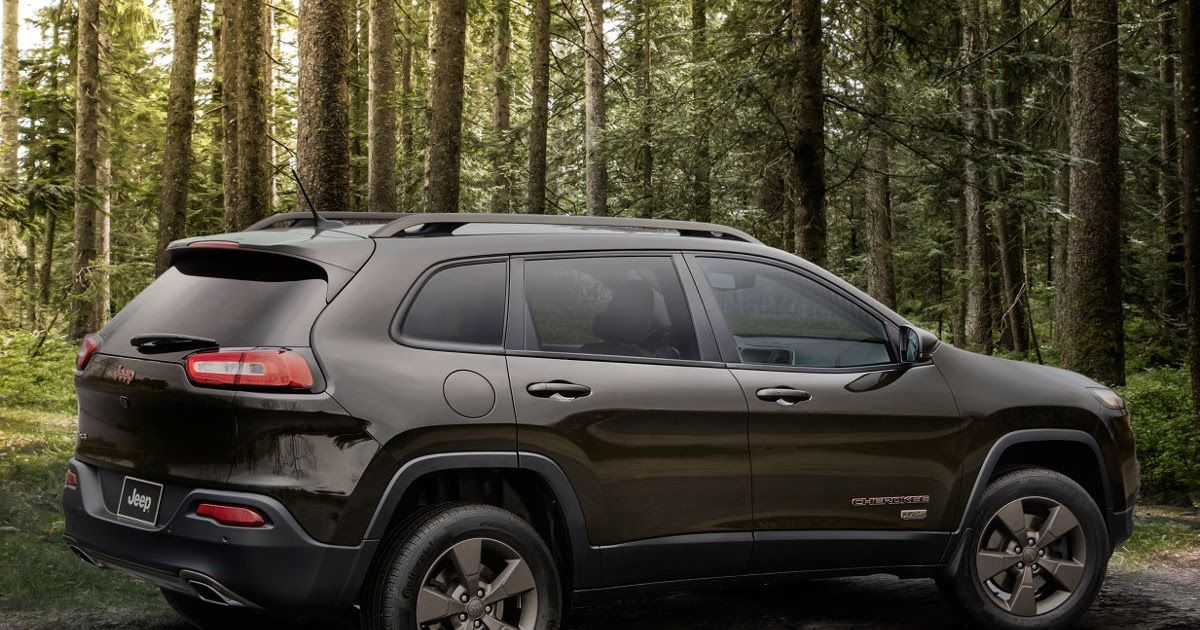2015 Jeep Cherokee Latitude Altitude Billet Silver Metallic