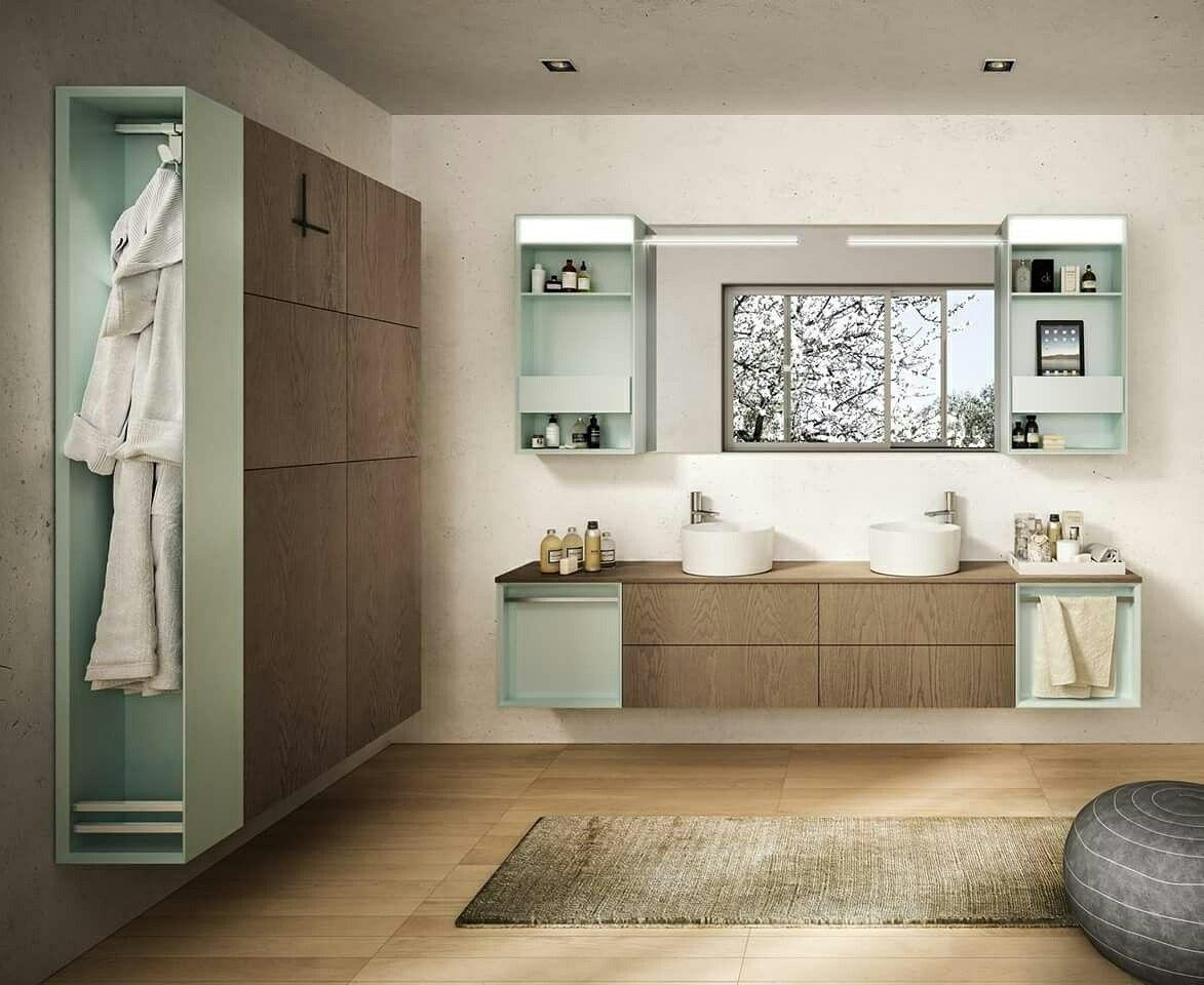 Mobili per l'arredamento del vostro bagno. bagnomoderno
