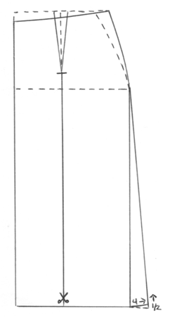 c990af860 Falda evase | Costura | Falda evase, Coser falda y Patrones de costura