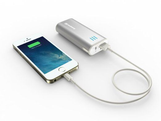The Jackery® Mini Premium iPhone Charger Power Pack will give your phone an  extra 10 hours of talk time or 1 full charge. 4f2a59f14c