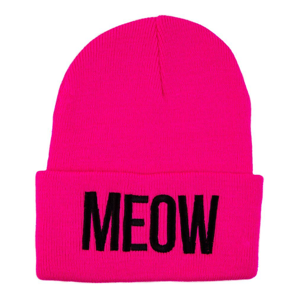 The perfect beanie for cat lovers! Extremely warm & comfy - available in four colors!