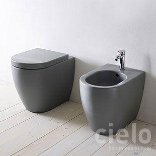 WC e bidet colorati bagno - Sanitari di design SMILE   Idee per la ...