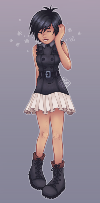 Kingdom Hearts 3 Xion. I like new outfits !