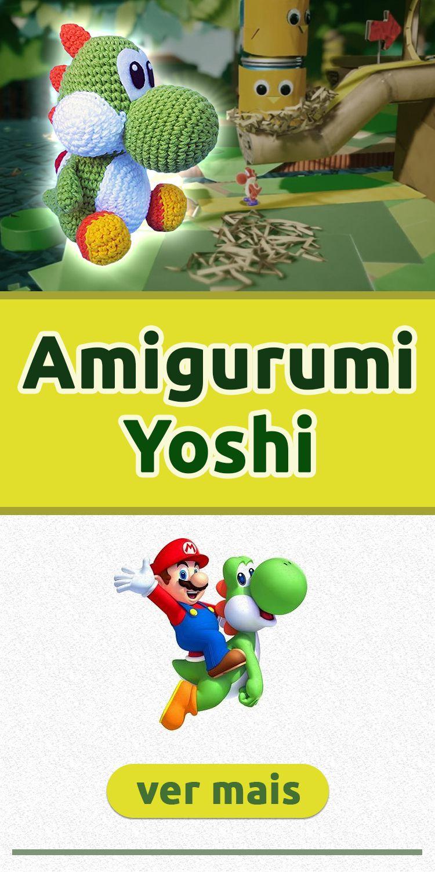 ✔️Gráfico de Amigurumi - Super Mario World ⭐🍄 - YouTube | 1500x750