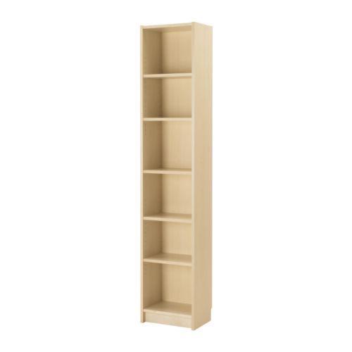 Billy Bookcase Birch Veneer 15 3 4x11x79 1 2 In 2020 Ikea Bookcase Bookcase Ikea Billy