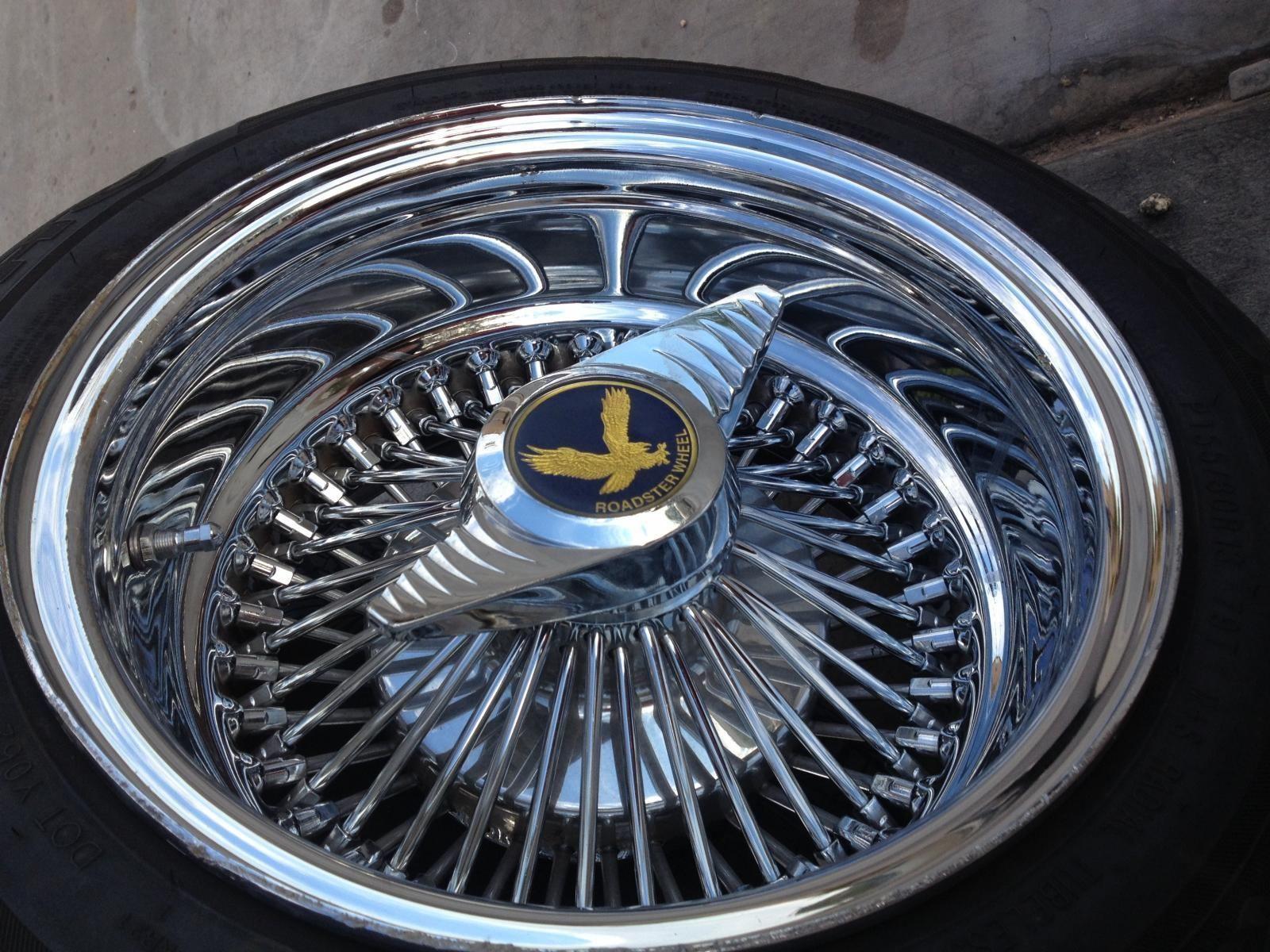 Dayton Wheels Pre Owned Roadster 6 Lug All Chrome