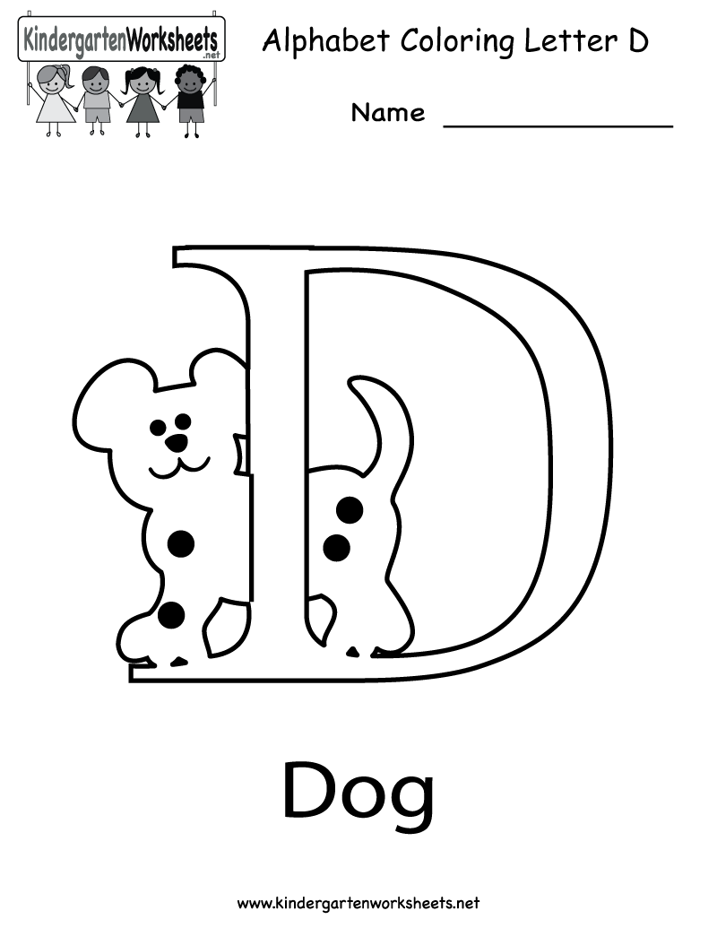 Printable letter worksheets for every letters of the alphabet – Worksheets for Kindergarten Letters