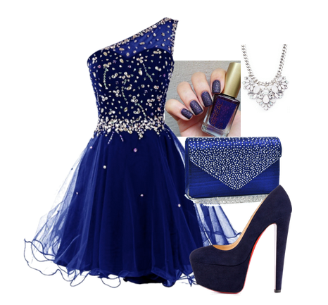 Pin En Blue Dresses