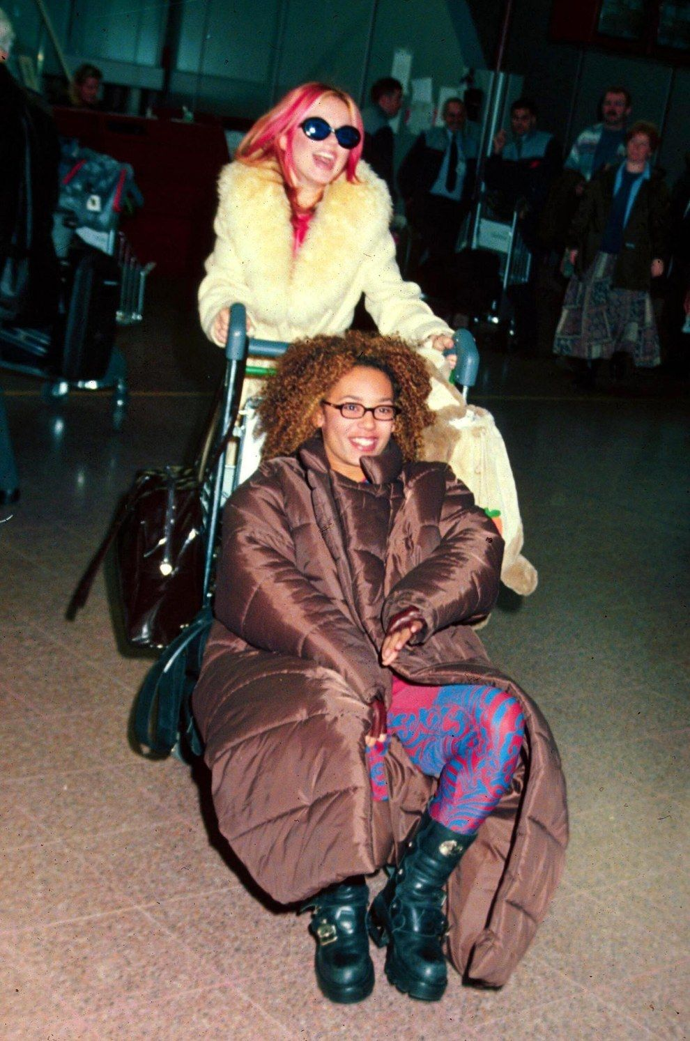 But then somehow found a better one. | 27 Times The Spice Girls Won Late '90s Fashion