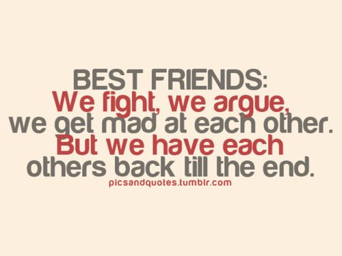 Friends Fight Quotes