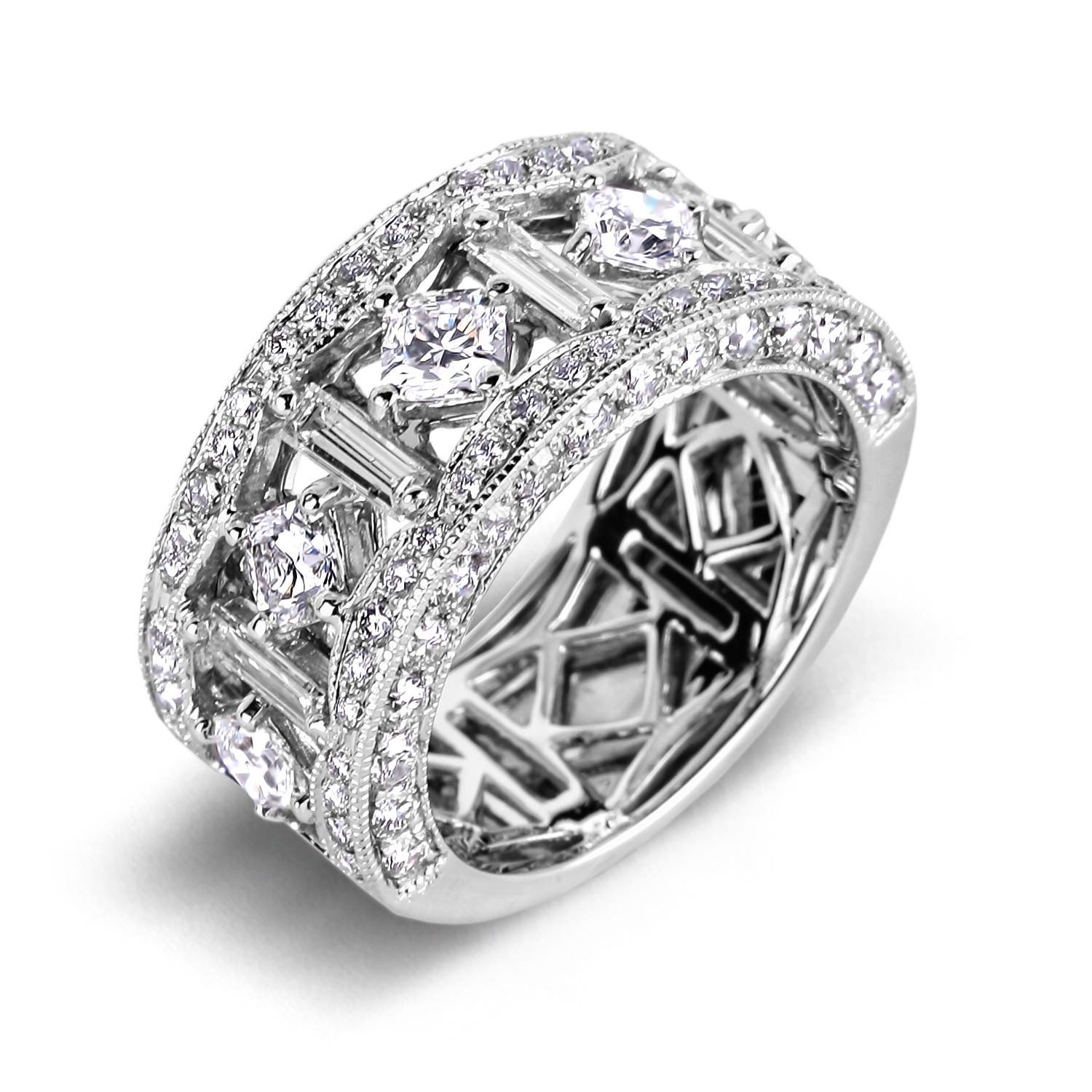 from jewellery mdc bands wedding wedanringsre ring asscher anniversary cfm band diamonds diamond eternity rings