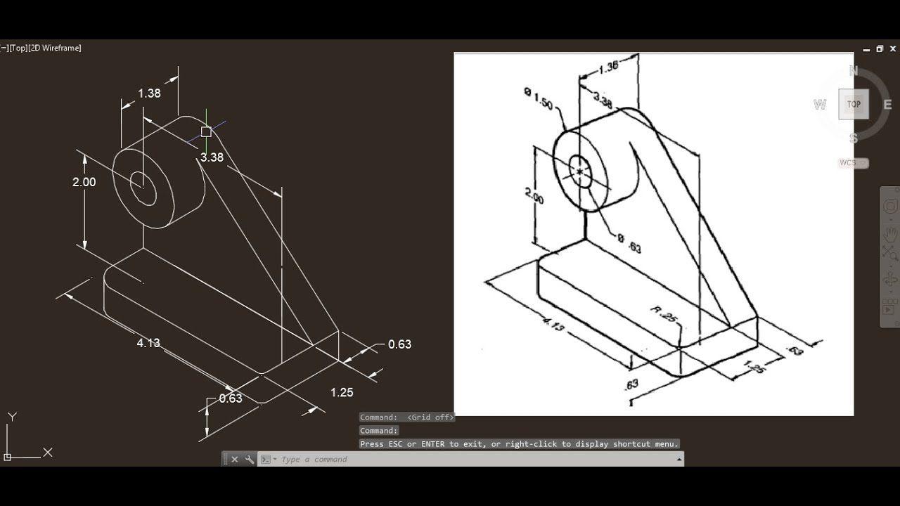Autocad Isometric Drawing 22 Isometric drawing Autocad