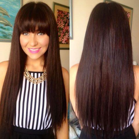 20 inch 220 gram superior dark chocolate brown clip in hair 20 inch 220 gram superior dark chocolate brown clip in hair pmusecretfo Gallery