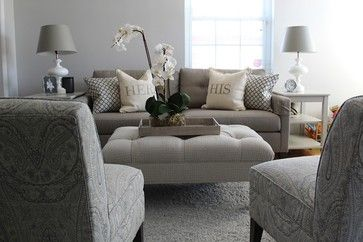 Arlington Small Scale Living Room transitional Living Room Dc