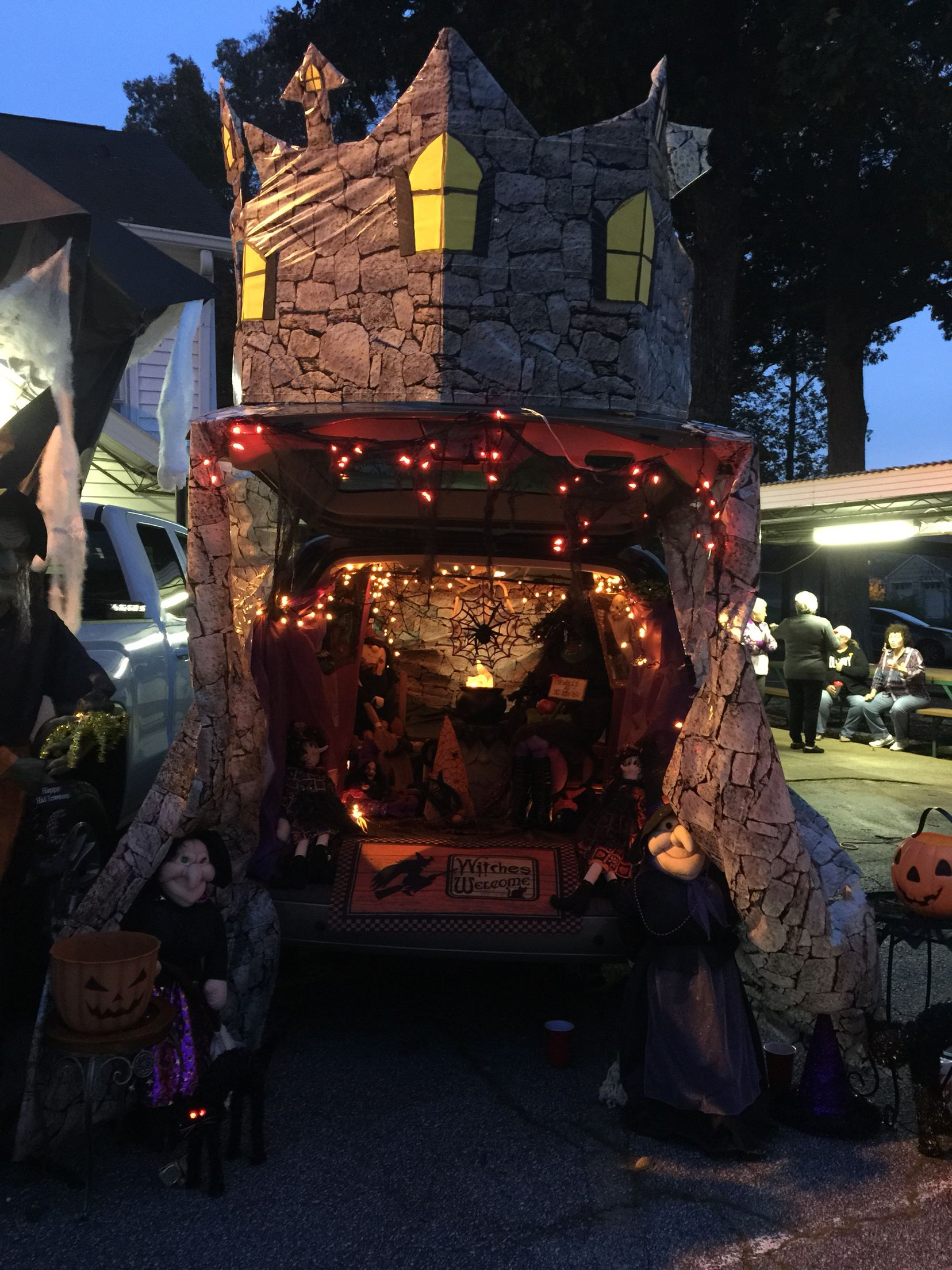 Trunk Or Treat Witches Castle