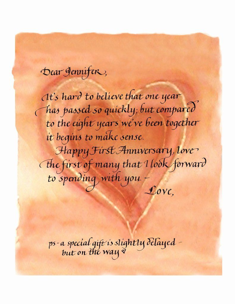 Wedding Anniversary Letter To Wife from i.pinimg.com