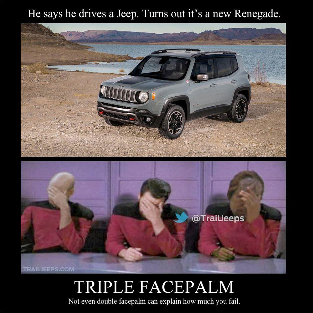 12b4f9918f895aa80901cf2e36b15363 he says he drives a jeep turns out it's a new renegade fun
