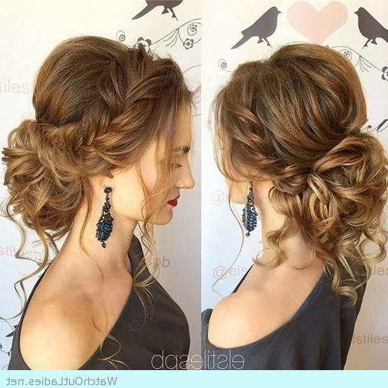 5 Stunning Bun Hairstyle Ideas Tutorials Joyeux Noel20 In 2020 Prom Hairstyles For Short Hair Medium Hair Styles Bun Hairstyles