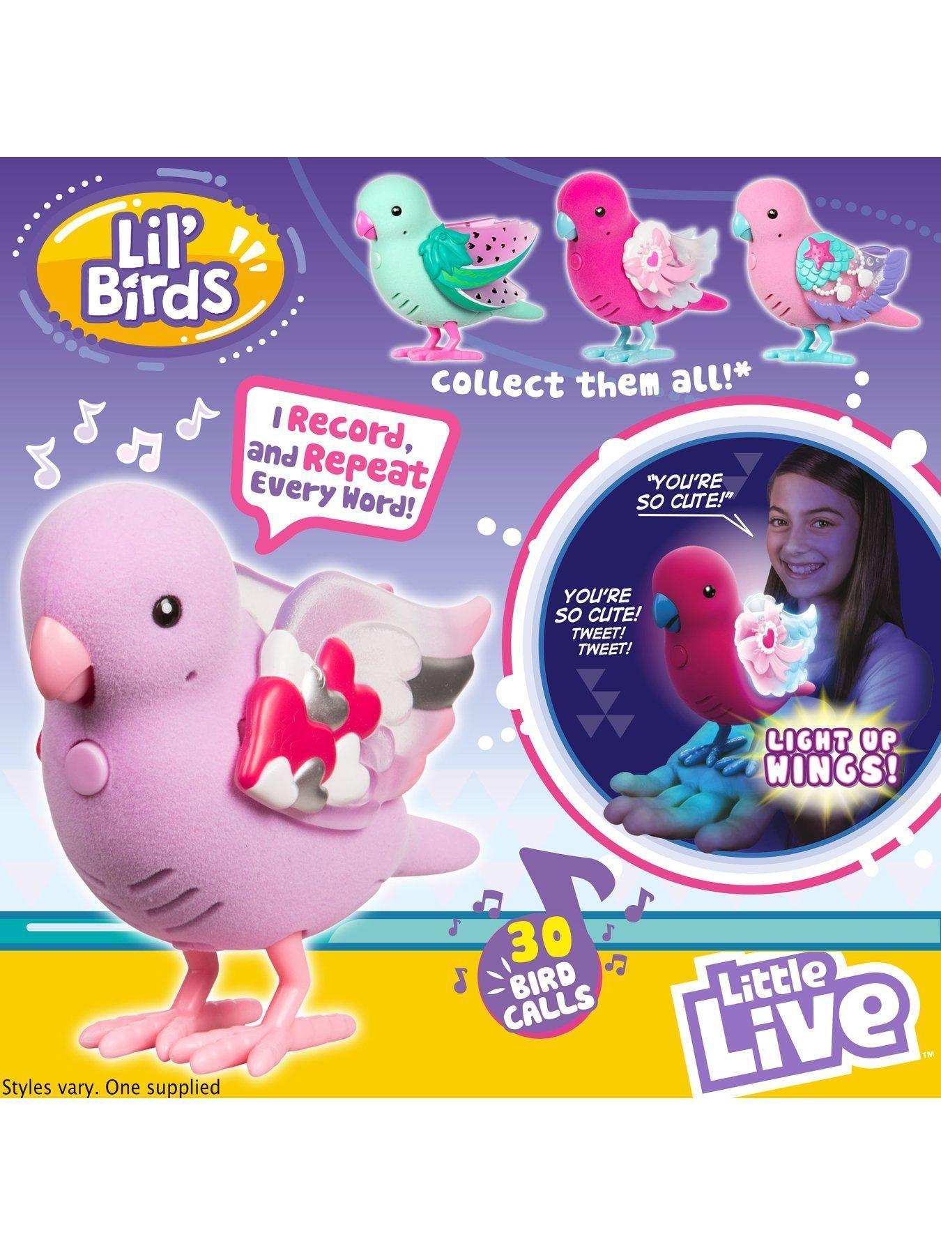 Little Live Pets Little Live Pets Light Up Song Birds Series 9 One Colour Little Live Pets Pets Light Up