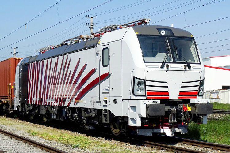 Siemens Lokomotion 193 774 Eisenbahn Bundesbahn Zug