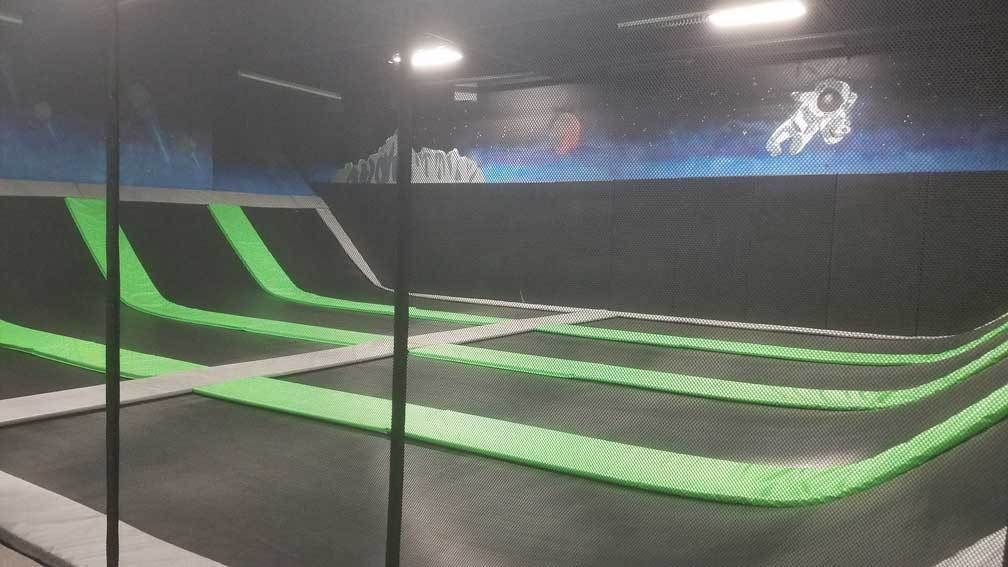 Elevate Trampoline Park Goodyear Trampoline Park Indoor Places Goodyear