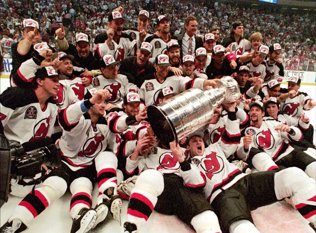 best sneakers 4e3bc 7f3d3 1995 New Jersey Devils: Their Dominant Path to the Stanley ...