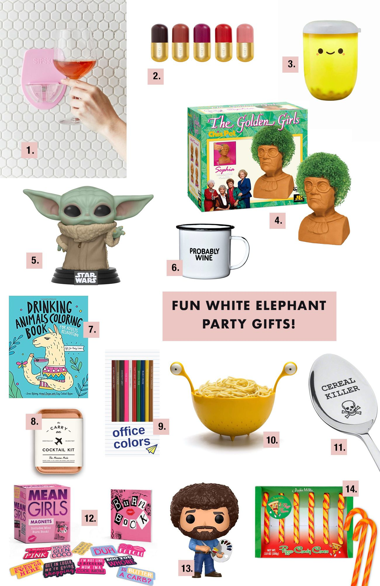 How to Throw a Rad White Elephant Party Rules, Gift