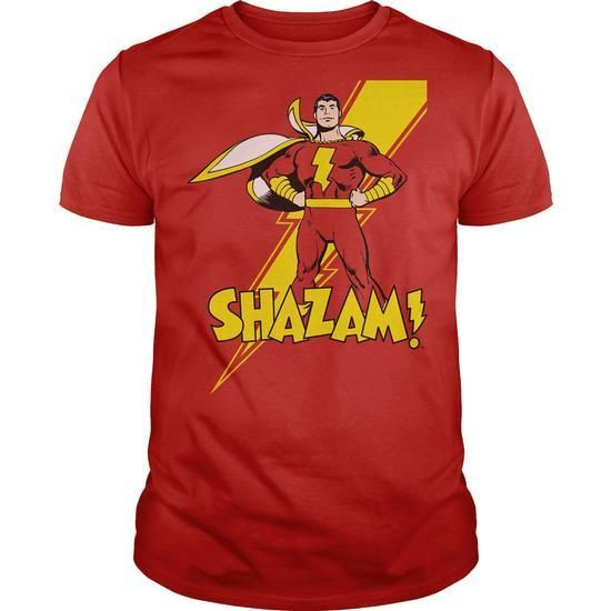 DC Shazam T Shirts, Hoodies Sweatshirts. Check price ==► https://www.sunfrog.com/Geek-Tech/DC-Shazam.html?57074