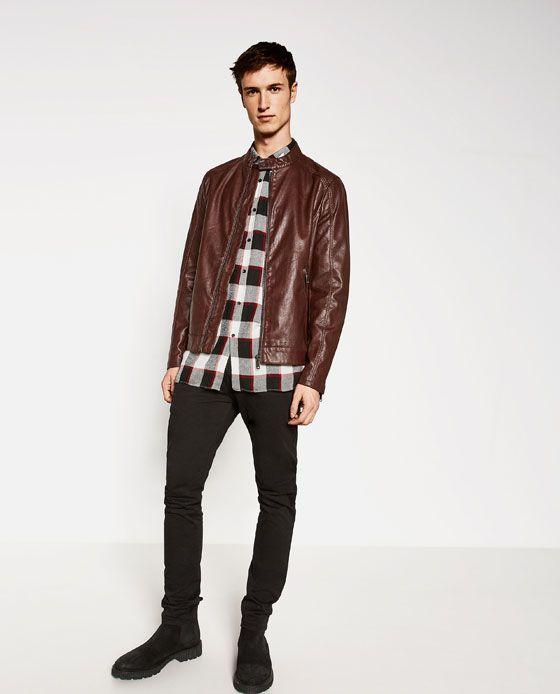 GIUBBOTTO IN PELLE SINTETICA DETTAGLIO #style #fashion #trend #onlineshop #shoptagr
