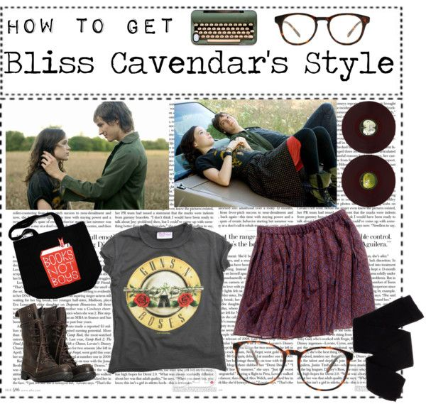 """""""How to get Bliss Cavendar's style"""" by weird-is-rad ❤ liked on Polyvore"""