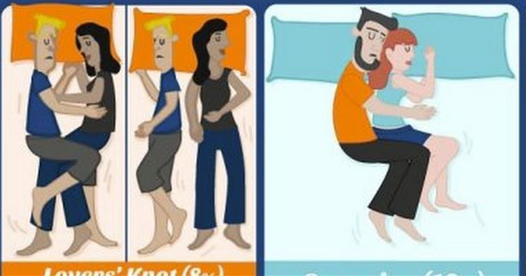 How You Sleep With Your Partner Reveals So Much About Your Relationship. This Is SO Accurate!