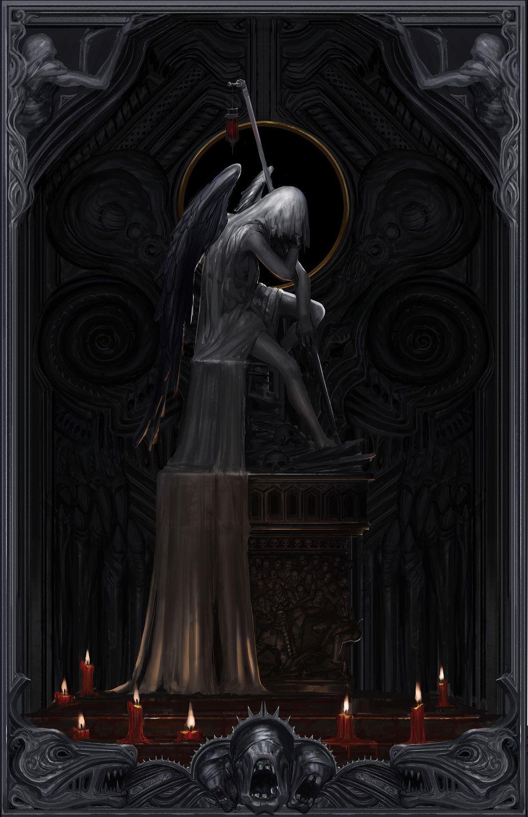 Born in Blood, Fei F. Ou on ArtStation at https://www.artstation.com/artwork/wJrl9