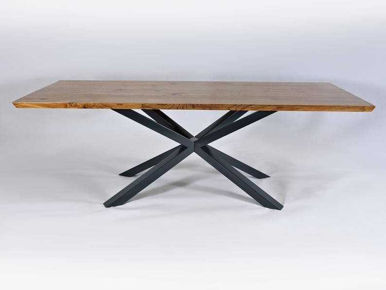 The Diamond Dining Table Base Industrial Base Sturdy Heavy Duty