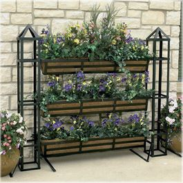 Lots of (vertical ) planter ideas so pretty to make a wall with...