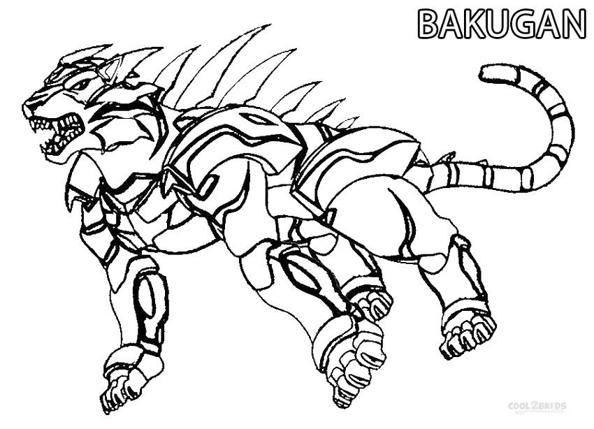 Printable Bakugan Coloring Pages For Kids | Cool2bKids ...