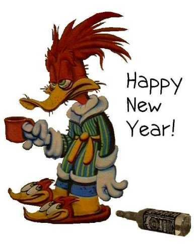 Woody Woodpeckers New Years Coffee Jokes Funny Good Morning Quotes Humor